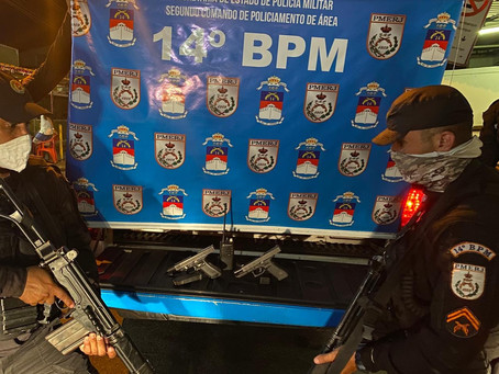 Policiais são atacados a tiros em Magalhães Bastos e criminosos morrem em confronto