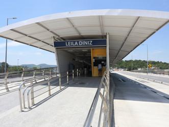 Estação do BRT na Transolímpica é reaberta após reformas