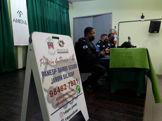 Número de roubos caem após chegada do Policiamento de Proximidade em Jardim Sulacap