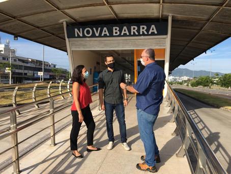 Prefeitura e BRT Rio reabrem a Estação Nova Barra, no Recreio