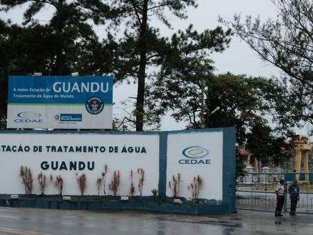 Cedae irá interromper atividades no Guandu nesta terça-feira(06)