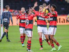 Já virou rotina! Flamengo goleia novamente e está com os pés na próxima fase