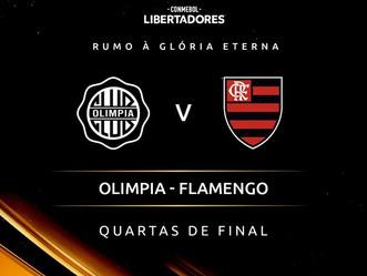Após decisão de pênaltis entre Olímpia x Internacional, Flamengo conhece rival para próxima fase