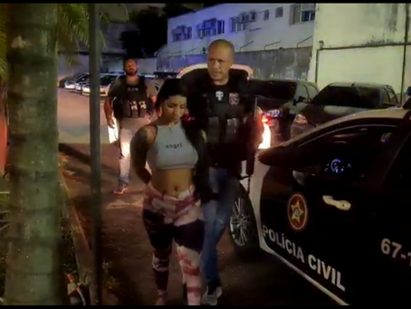 Polícia Civil prende mulher por sequestro e extorsão em Realengo
