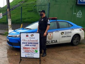 Magalhães Bastos, Mallet e Realengo receberão policiamento de proximidade nas próximas semanas