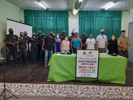 Polícia de Proximidade de Sulacap se reúne com associação de moradores