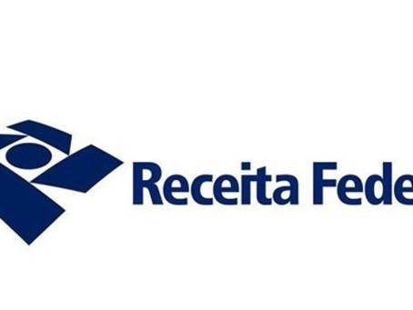 Receita Federal prorroga prazo para declaração do Imposto de Renda.