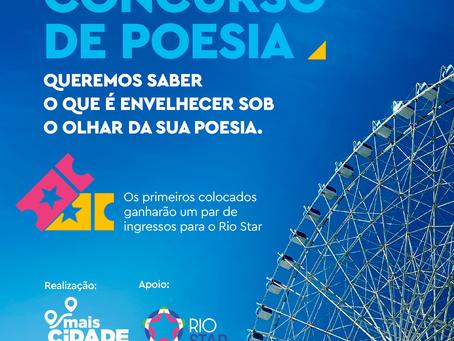Secretaria lança primeiro concurso de poesia para idosos