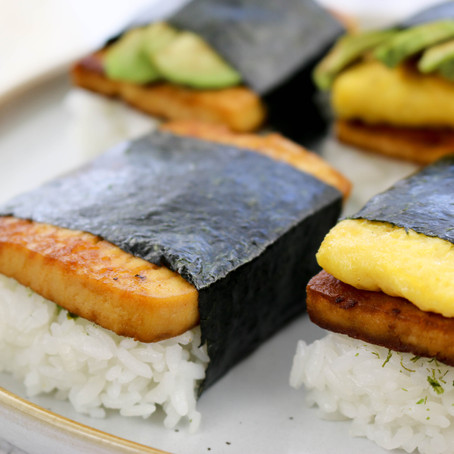 How to Make Delicious Tofu Spam Musubi - 3 Ways!