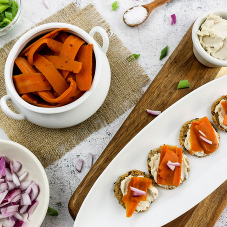 Vegan Smoked Salmon Carrots
