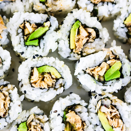 Vegan Spicy California Rolls