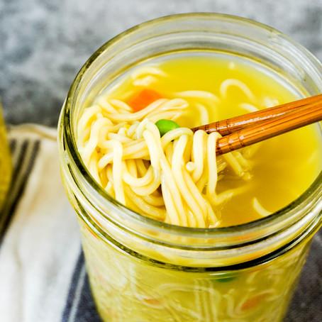 Vegan Chicken Cup of Noodles