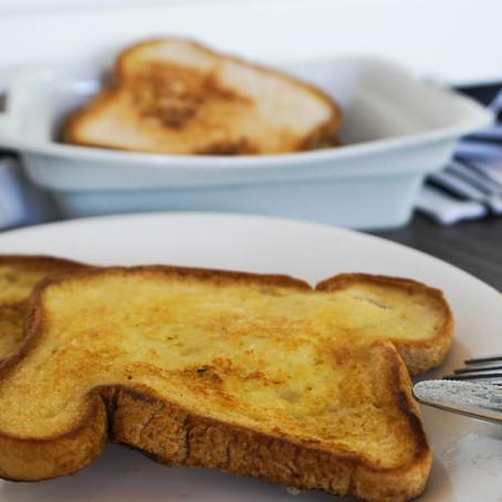 No Egg-O Vegan French Toast