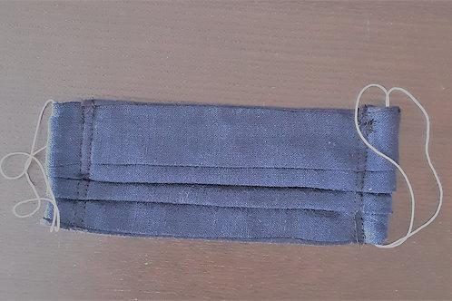 Masque Bleu Marine- Élastique blanc