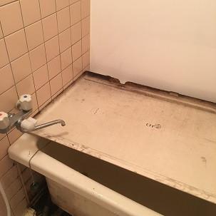 西区己斐本町で浴室クリーニングをしました。