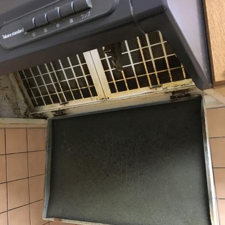 廿日市市串戸にてレンジフードクリーニングをさせていただきました。