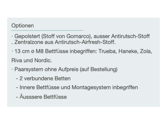 Springbed Optionen.png