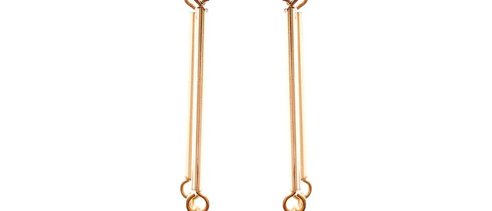 Amelie Jewelry Chloe Earrings Blue
