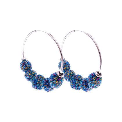 Amelie Jewelry Judith Earrings Blue