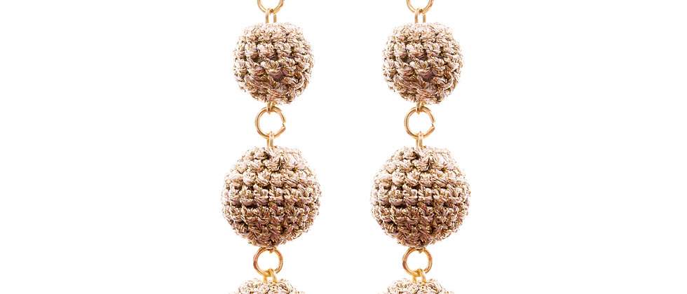 Amelie Jewelry Hepzibah Earrings Gold