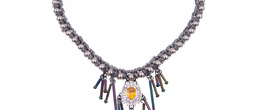 Amelie Jewelry Amber Choker