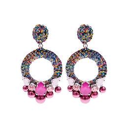 Aaliyah Earrings Pink