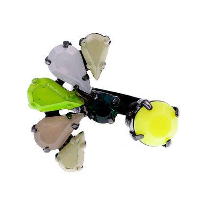 Pherenice Ring Green