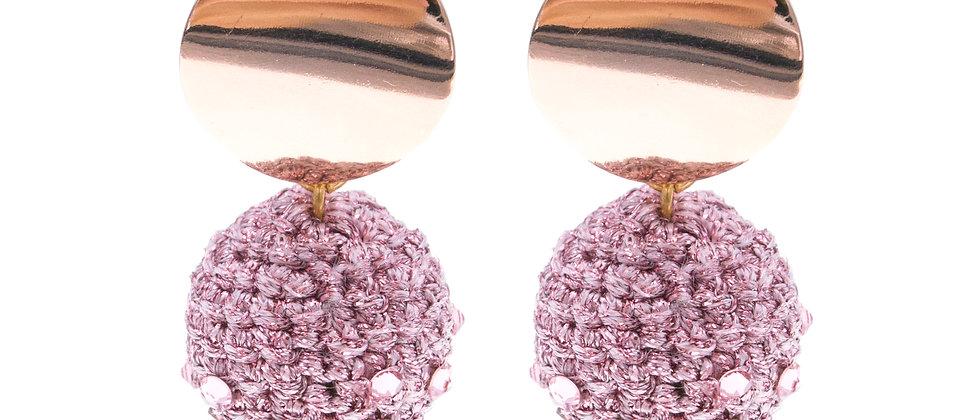Amelie Jewelry Delilah Earrings Pink