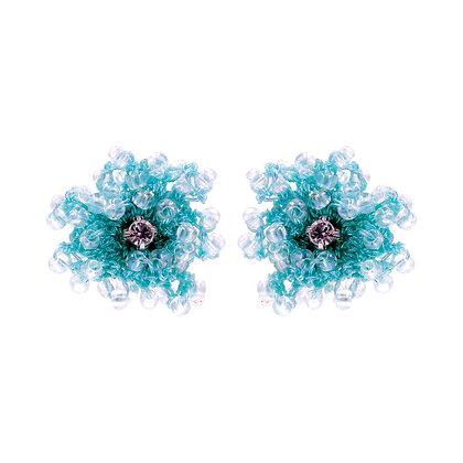 Blair Earrings Green