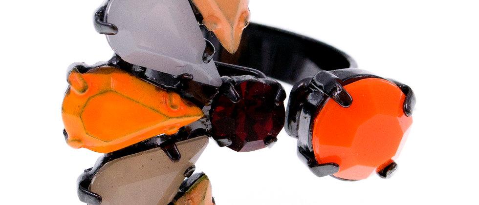 Pherenice Ring Orange