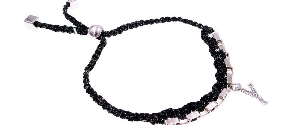 """Amelie Jewelry Initial """" Y """" Friendship Bracelet"""
