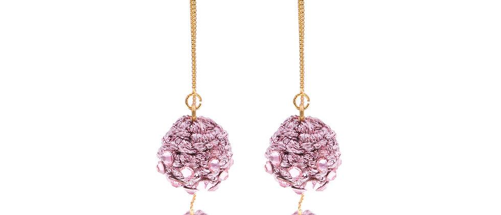 Amelie Jewelry Claudia Earrings Pink