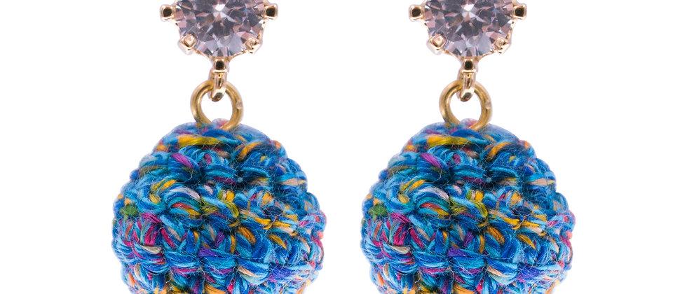 Amelie Jewelry Magdalen Earrings Blue