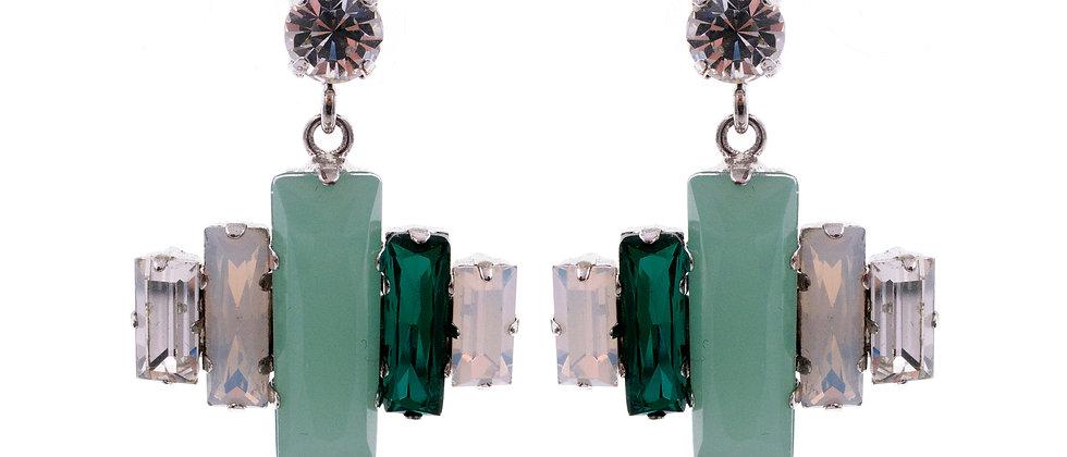 Cymbeline Earrings Green