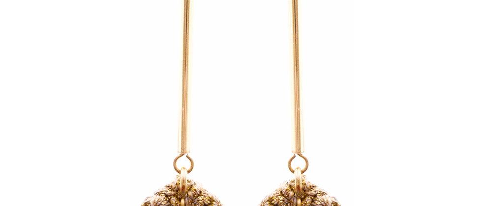 Amelie Jewelry Dinah Earrings Blue