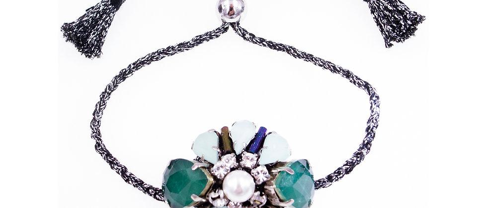 Theodora Bracelet Green
