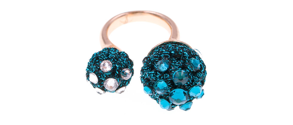 Amelie Jewelry Claudia Ring Blue