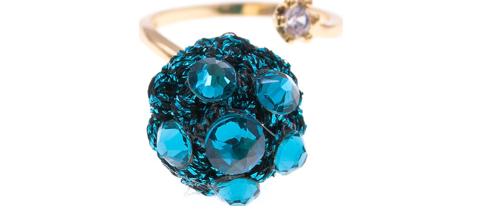 Amelie Jewelry Selah Ring Blue
