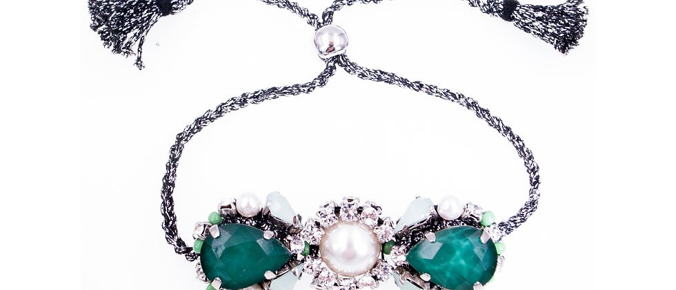 Clementine Bracelet Green