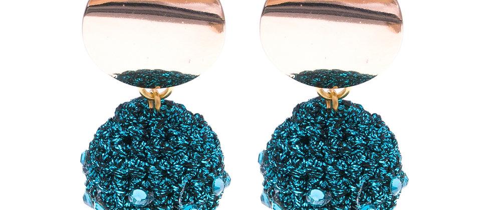 Amelie Jewelry Delilah Earrings Blue