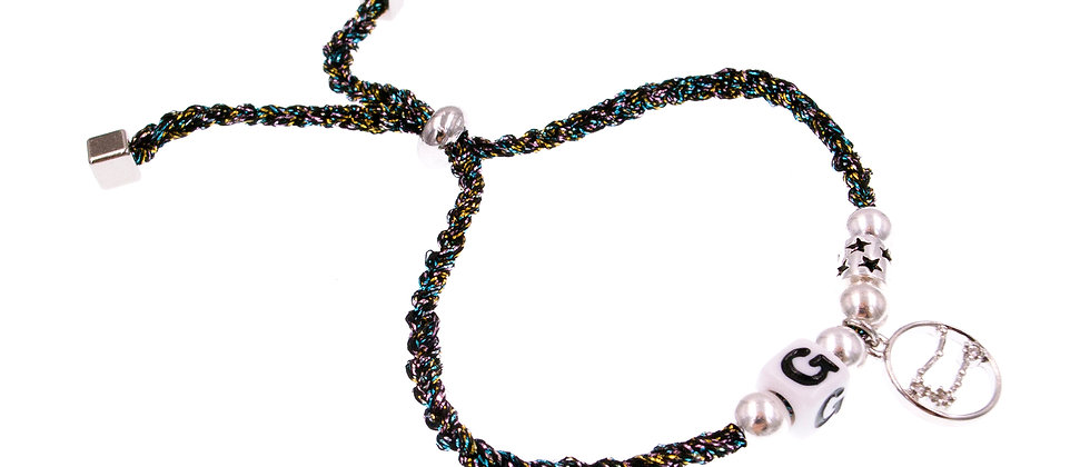 """Amelie Jewelry Zodiac """" Gemini """" Friendship Bracelet"""