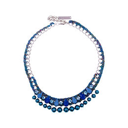 Aaliyah Necklace Blue