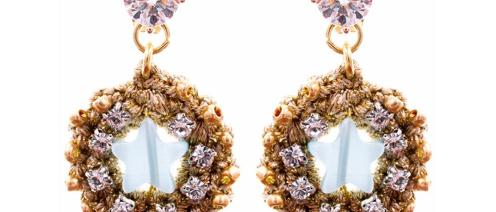 Amelie Jewelry Lydia Earrings Blue