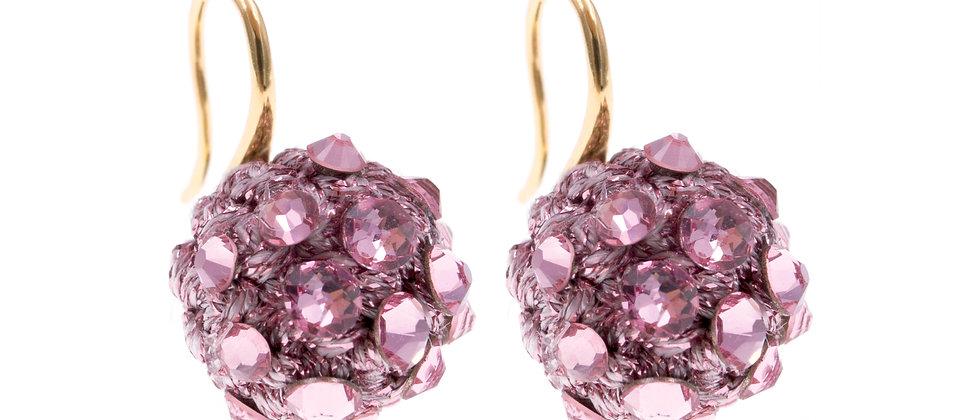 Amelie Jewelry Selah Earrings Pink