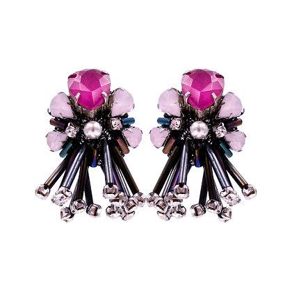 Theodora Earrings Pink