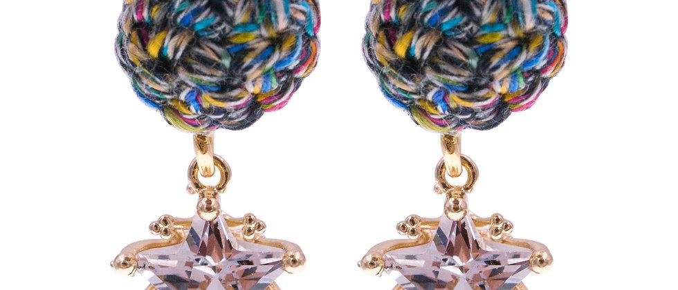 Amelie Jewelry Zillah Earrings Rainbow