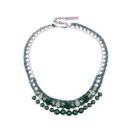 Aaliyah Necklace Green