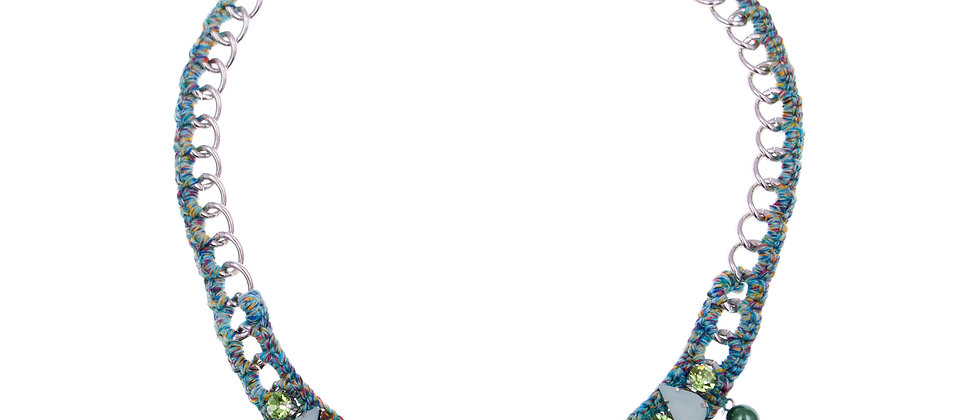 Amelie Jewelry Aaliyah Necklace Green
