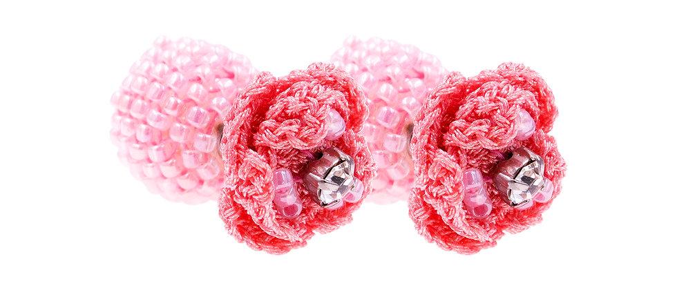 Berenice Earrings Pink