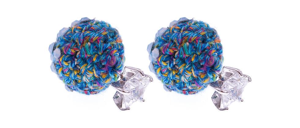 Amelie Jewelry Leah Earrings Blue